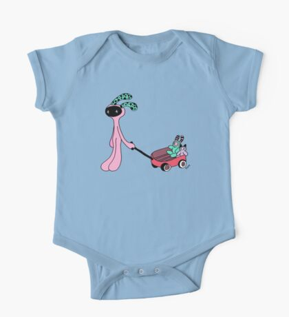 My red wagon One Piece - Short Sleeve