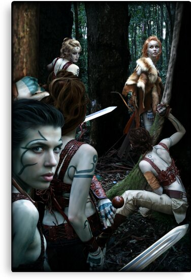 Woad wood by Ivy Izzard