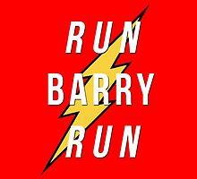 Run, Barry, Run by anderpsonblaine