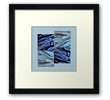 plastic waves by 4 Framed Print