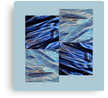 plastic waves by 4 Canvas Print