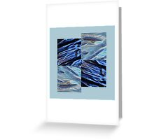plastic waves by 4 Greeting Card