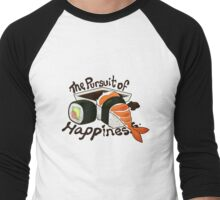 Sushi Pursuit Men's Baseball ¾ T-Shirt
