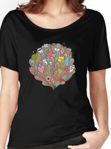 Doodle dreams Women's Relaxed Fit T-Shirt