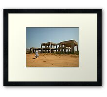 Naxos Structure Framed Print