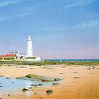 St Mary's Lighthouse by Brian Towers