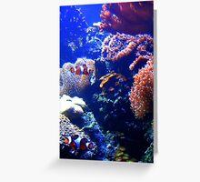 Coral world Greeting Card