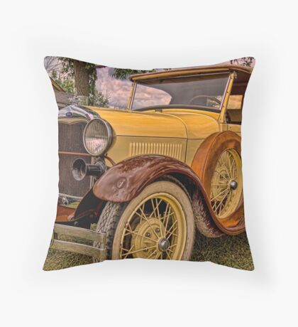 1929 Ford Roadster Pick-Up Throw Pillow