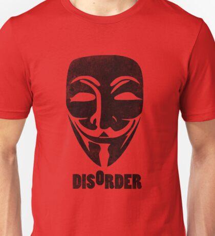 Disorder Guy Fawkes  Unisex T-Shirt