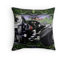 Psycho Driver Throw Pillow