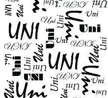 Uni (Black Writing) by C J Lewis