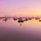 sunrise in the bay by ketut suwitra