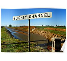 Blighty Channel Poster