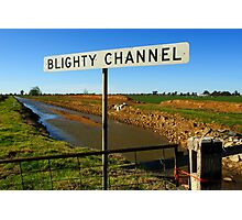 Blighty Channel Photographic Print