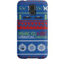 Supernatural Christmas Sweater Samsung Galaxy Case/Skin