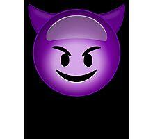 Evil Purple Photographic Print