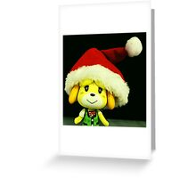 Xmas Isabelle  Greeting Card