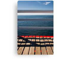 Cross The Line Canvas Print