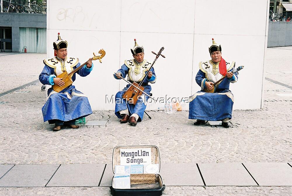 Mongolian songs by Maria Slovakova