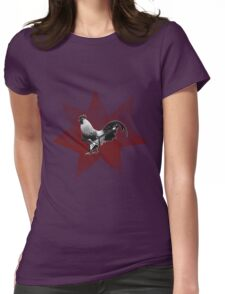 cock rock ! Womens Fitted T-Shirt