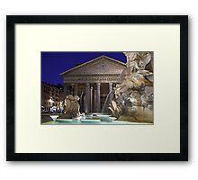 Rome - Pantheon Framed Print