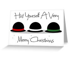 Hat Yourself a Merry Christmas Greeting Card