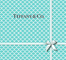 Tiffany & Co. Quatrefoil Blue Box and Ribbon by Everett Day