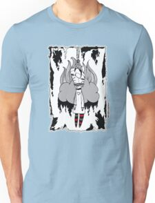 Heartless Doll Illustration Unisex T-Shirt