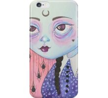 Wednesday Child is Full of Woe iPhone Case/Skin