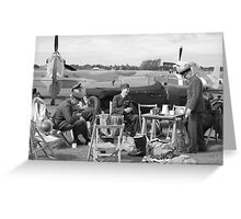 Pilots picknic Greeting Card