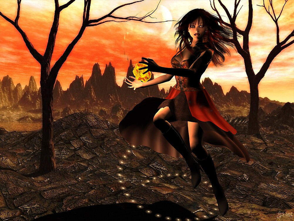 Autumn Fire by DivaMom