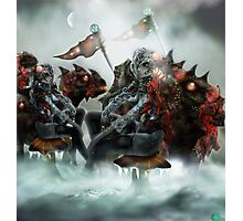 Robot Beings of the Mecha-Frost 1 Photographic Print