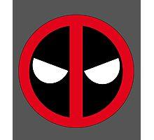 Angry Deadpool Icon  Photographic Print