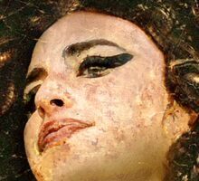 Amy Winehouse by Caravaggio Sticker