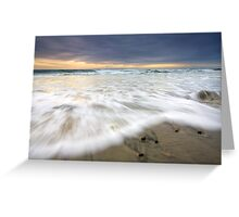 Rolling with the Tides Greeting Card