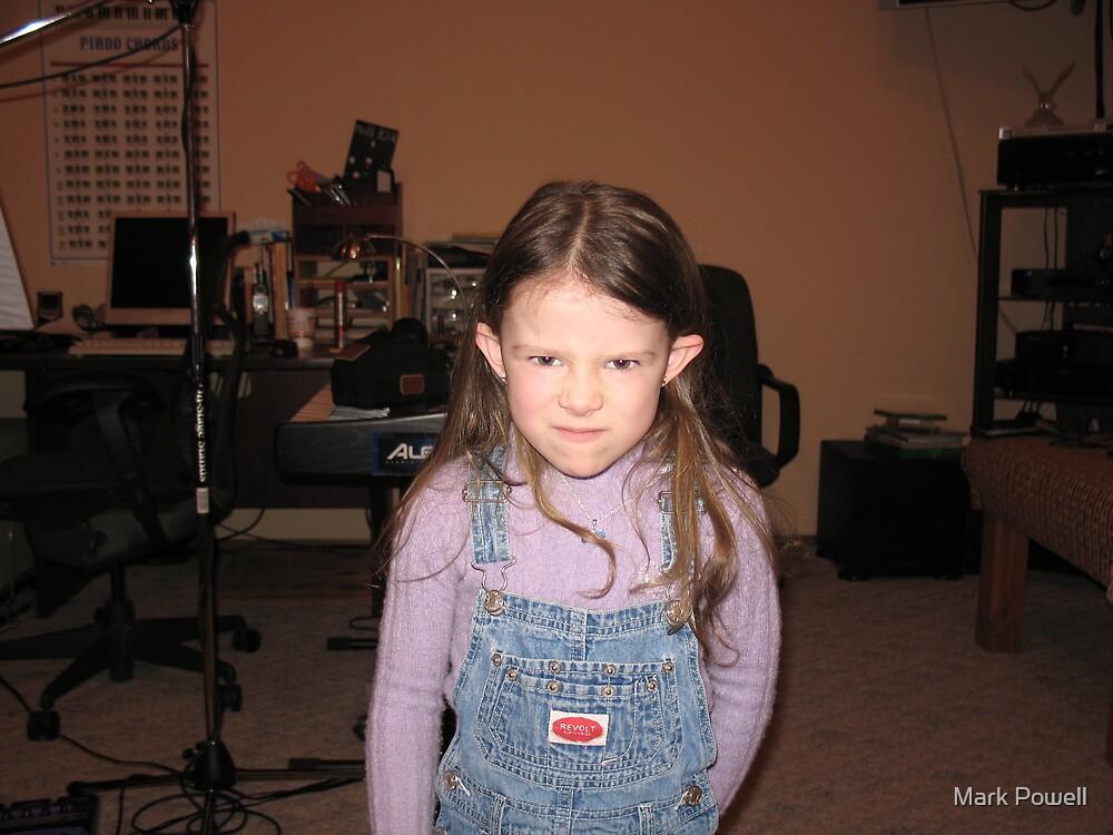 Angry Jenna by Mark Powell