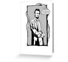 Captain Abe Greeting Card
