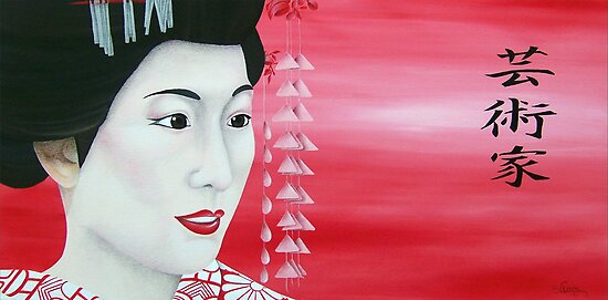 Geisha by Sonja Claes