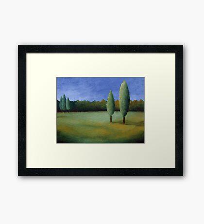 Landscape I Framed Print
