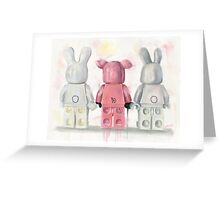 Piggy in the Middle Greeting Card