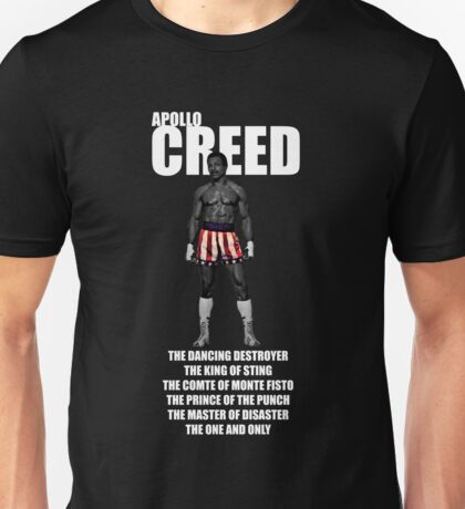APOLLO CREED WITH PSEUDO'S Unisex T-Shirt