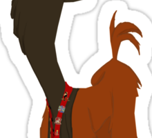 Kuzco Visits Disneyland Sticker