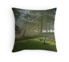 Rest a While Throw Pillow