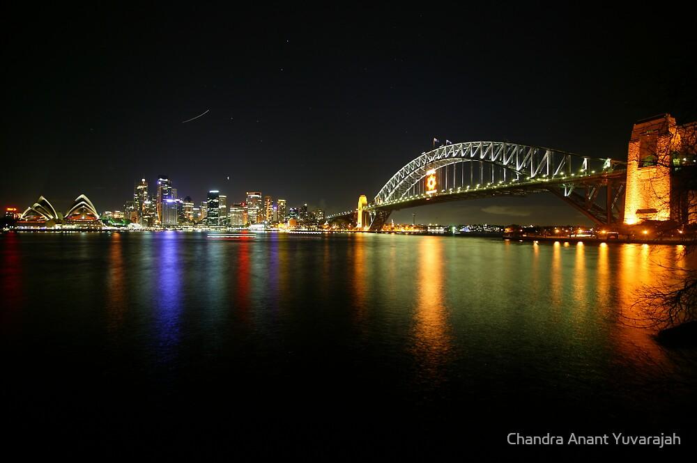 Sydney Skyline by Chandra Anant Yuvarajah