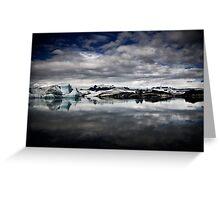 Jökulsárlón - Glacial Lake Greeting Card
