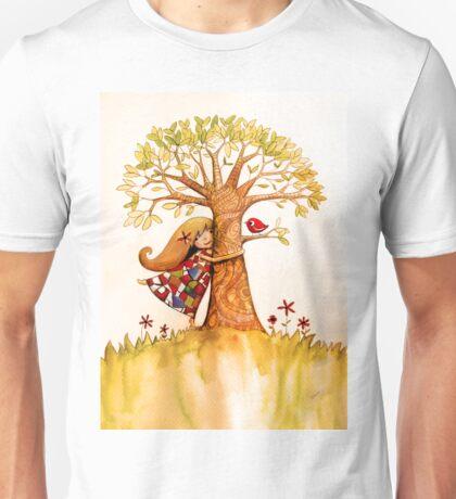 tree hugs Unisex T-Shirt