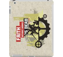 Faith without works is dead iPad Case/Skin