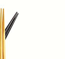 Chopsticks by Karin  Hildebrand Lau