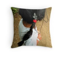 Jemma's Pigtail Throw Pillow