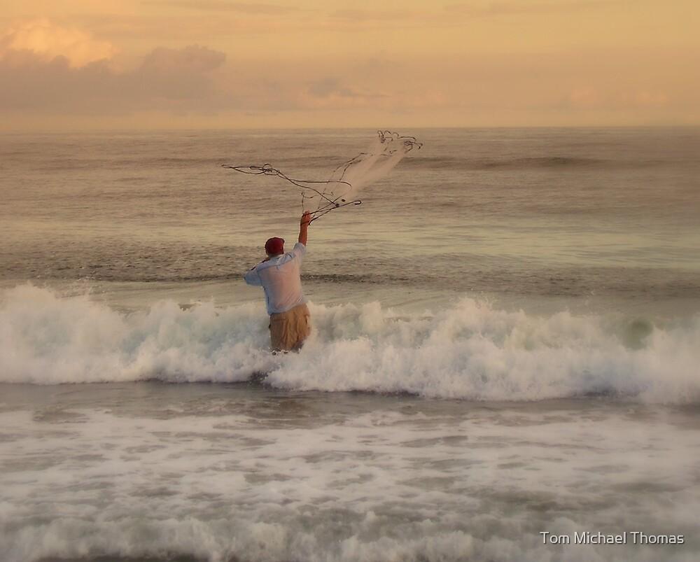 fishermans net by Tom Michael Thomas